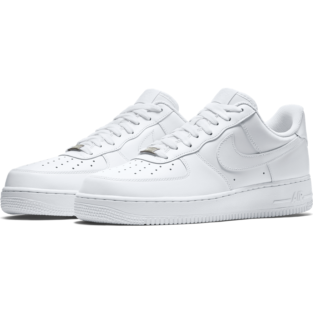 Nike Sportswear Air Force 1 White Pack - Stone Forest