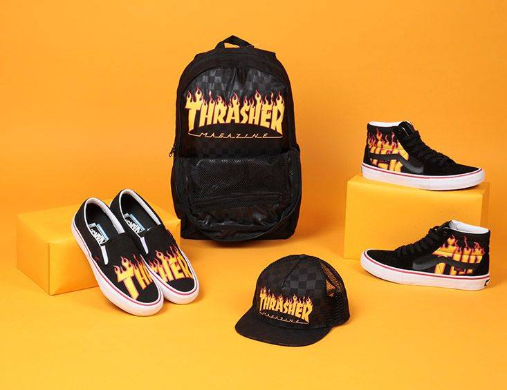 Коллекция Vans x Thrasher Collaboration - Stone Forest