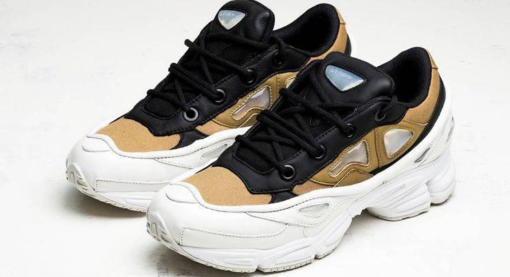 Модель кроссовок adidas Originals x Raf Simons Ozweego III - Stone Forest