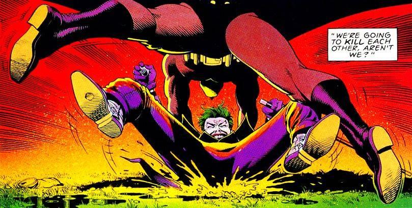 Комикс Убийственная шутка DC Comics - Stone Forest