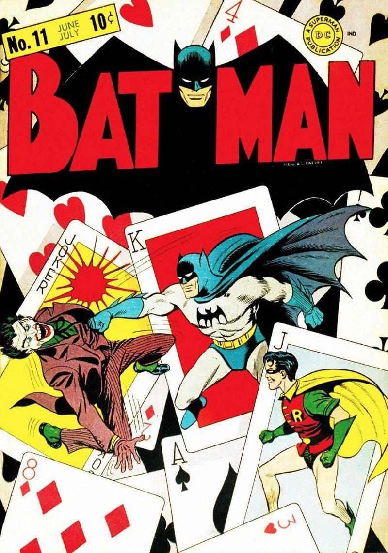 Первы комикс с участием Джокера из DC Comics - Stone Forest