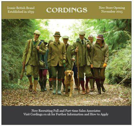 Advertising Cordings Clothing - Stone Forest