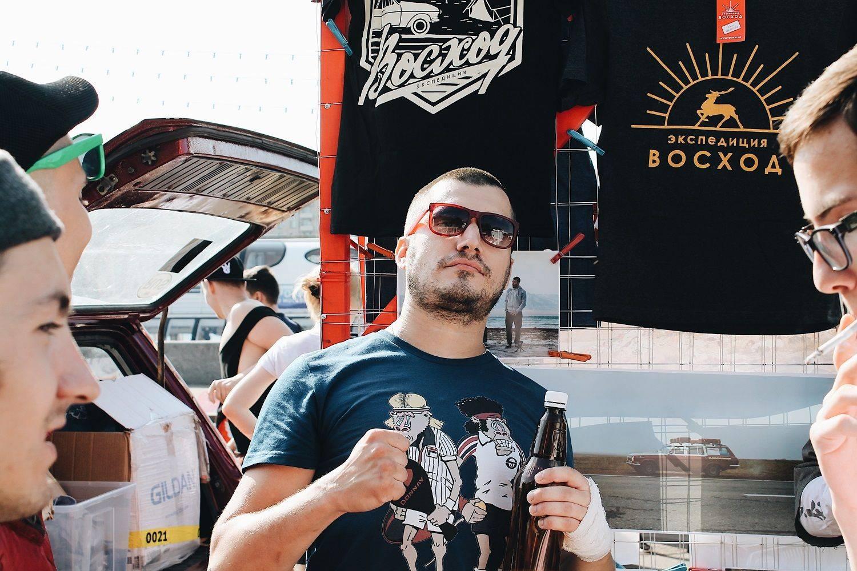 Бренд Восход на Faces&Laces 2017 в Парке Горького - Stone Forest