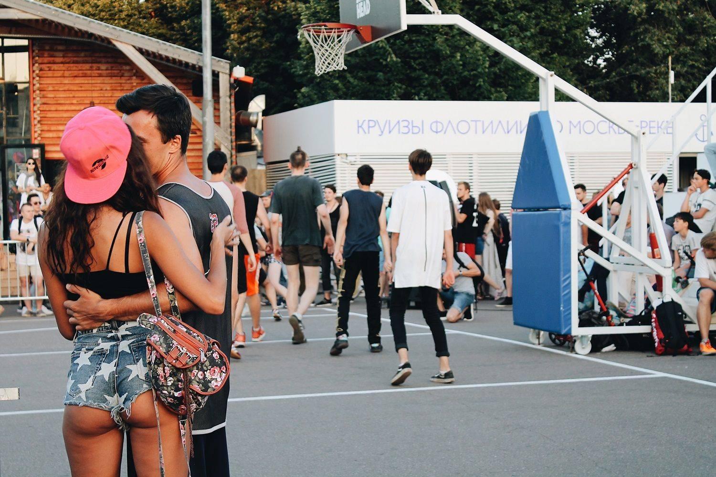 Баскетбол на Faces&Laces 2017 в Парке Горького - Stone Forest