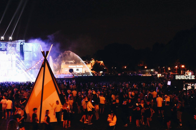 Концерт Faces&Laces 2017 в Парке Горького - Stone Forest