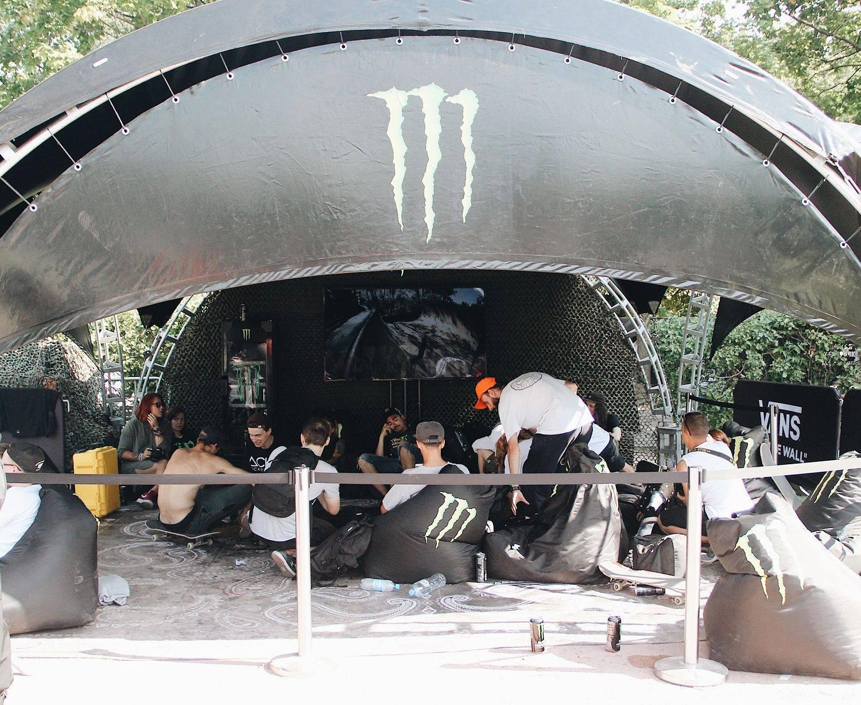 Monster на Faces&Laces 2017 в Парке Горького - Stone Forest