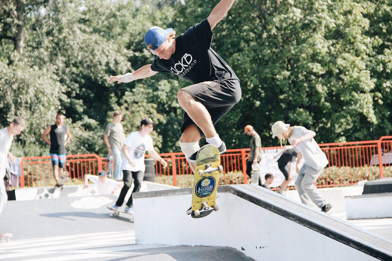 Скейтбординг на Faces&Laces 2017 в Парке Горького - Stone Forest