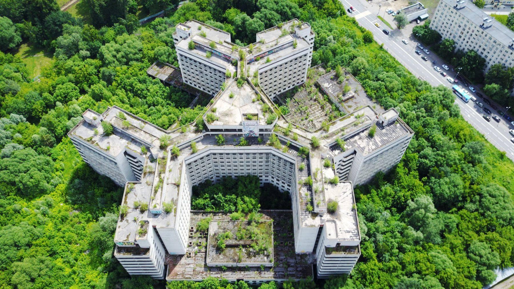 Ховринская заброшенная больница