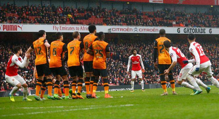 Футбольный клуб Халл Сити против Арсенала из Лондона - Stone Forest