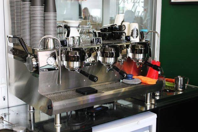 кофейное пространство Смарт Кофе на ВДНХ