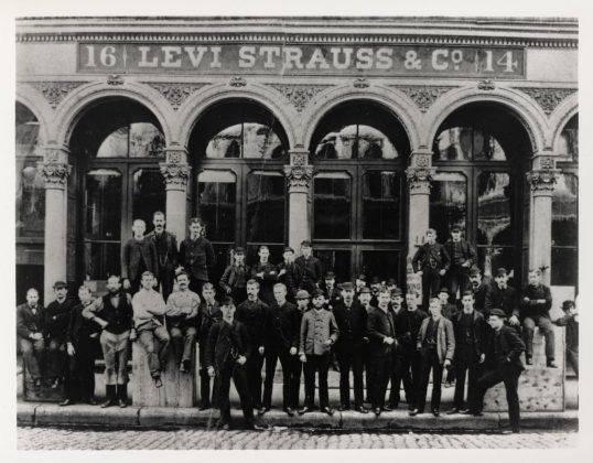 Первый магазин Леви Страусс - Stone Forest