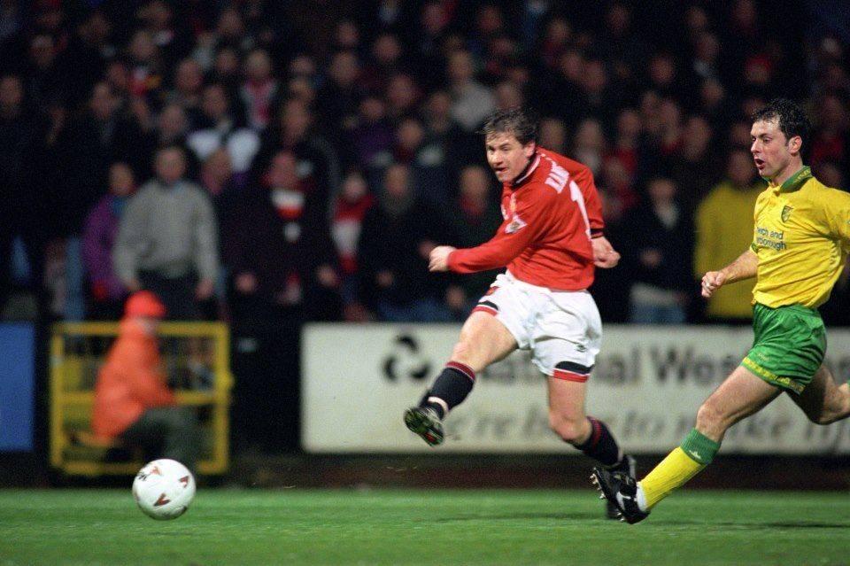 Андрей Канчельскис из Манчестер Юнайтед 1992 года - Stone Forest