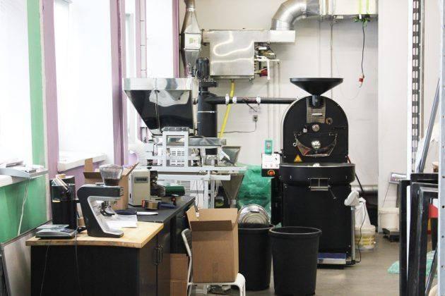 производство Смарт Кофе на ВДНХ