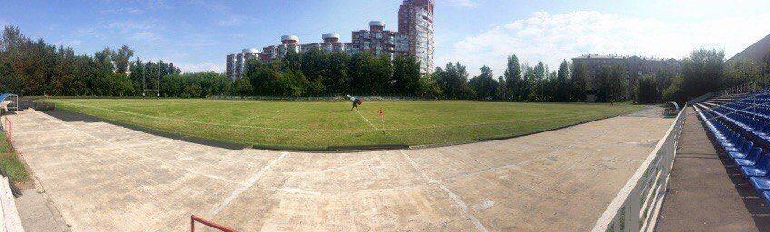 Стадион Фили на регбийное дерби ЦСКА - Спартак 20 августа - Stone Forest
