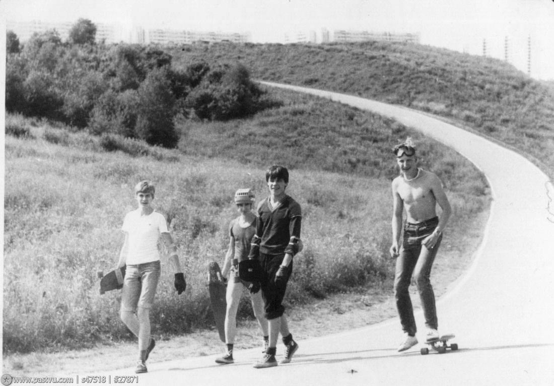 Скейтбординг в СССР - Stone Forest