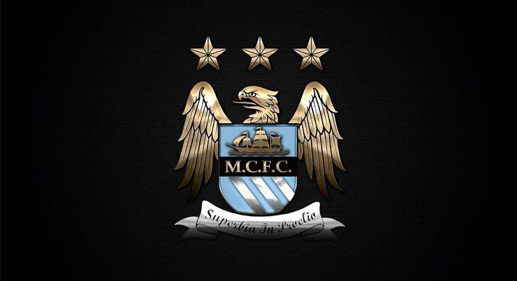 Старый логотип Манчестер Сити со звездами - Stone Forest
