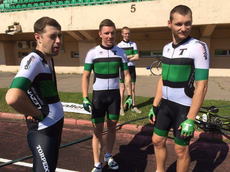 Новая форма велосипедной команды Торпедо - Stone Forest