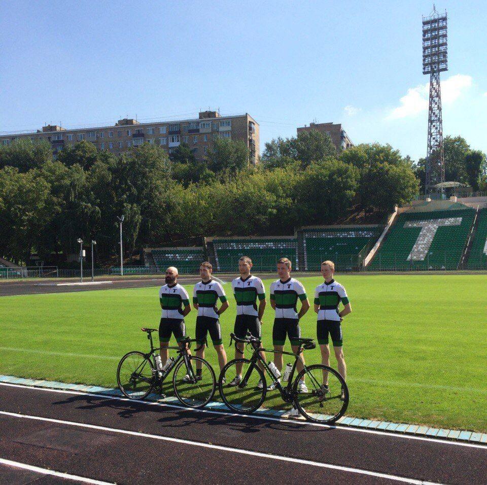 Форма велосипедной команды Торпедо Москва - Stone Forest