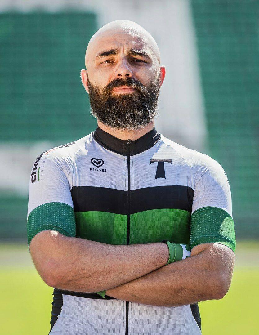 Представитель велосипедной команды Торпедо Москва - Stone Forest