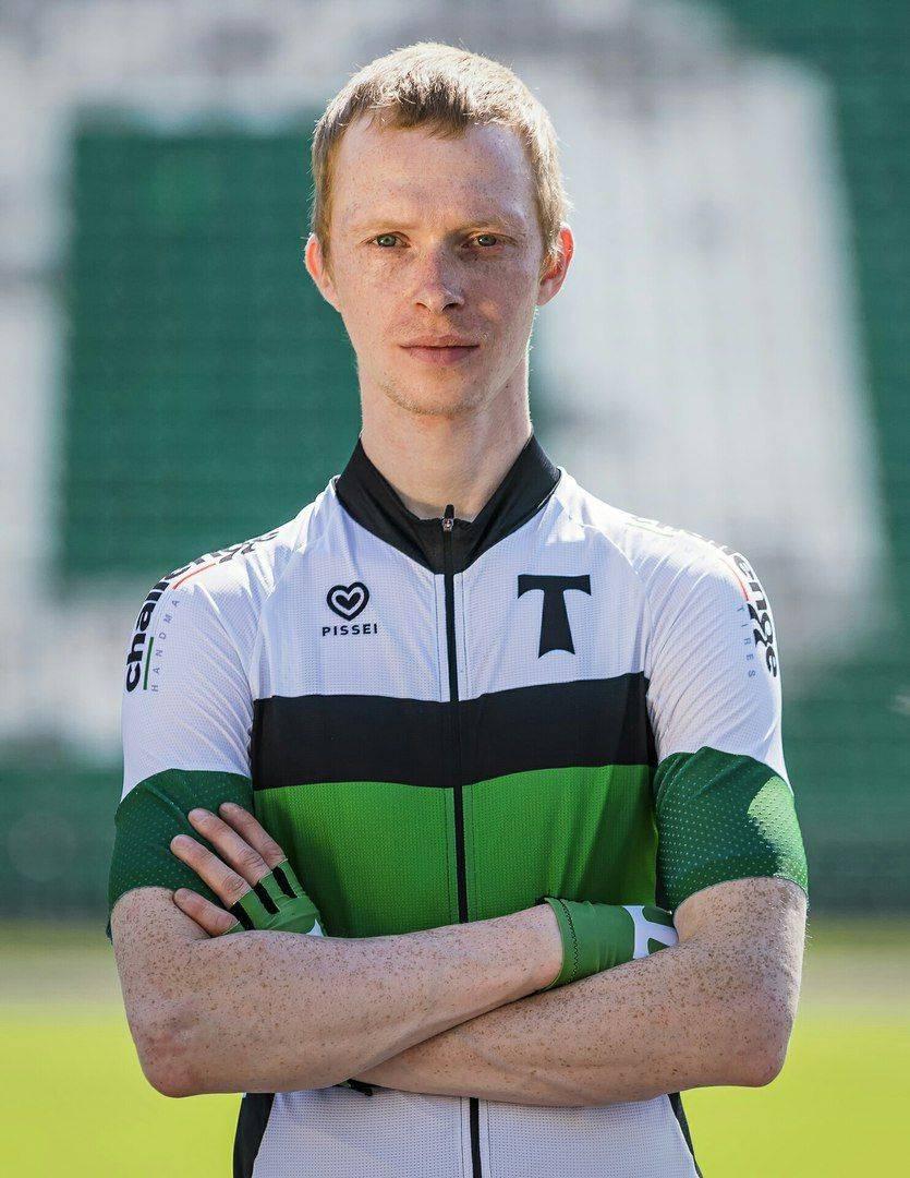Участник велосипедной команды Торпедо Москва - Stone Forest