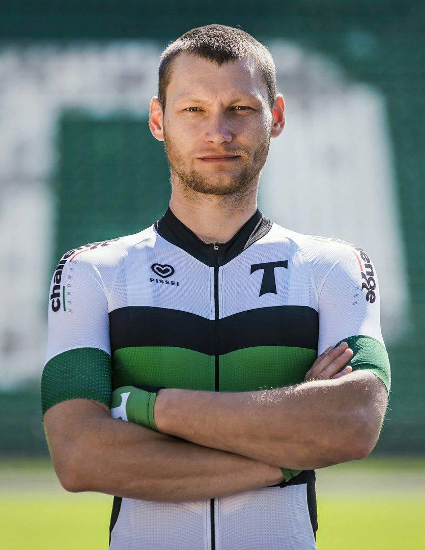 Спортсмен велосипедной команды Торпедо Москва - Stone Forest