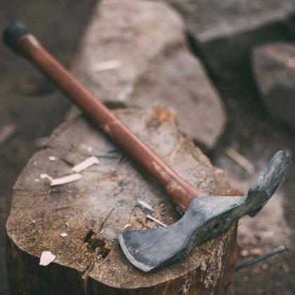 Топор Barebones Pulaski Axe - Stone Forest