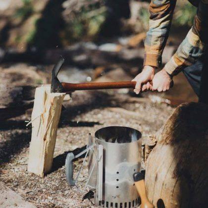 Топор мотыга Barebones Pulaski Axe - Stone Forest
