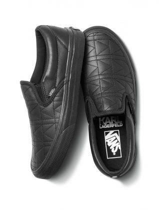 Коллаборация обувь Vans x Karl Lagerfeld - Stone Forest