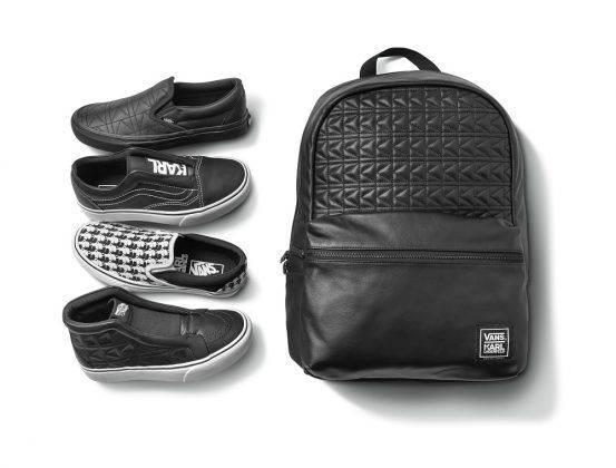 Коллаборация рюкзак и обувь Vans x Karl Lagerfeld - Stone Forest
