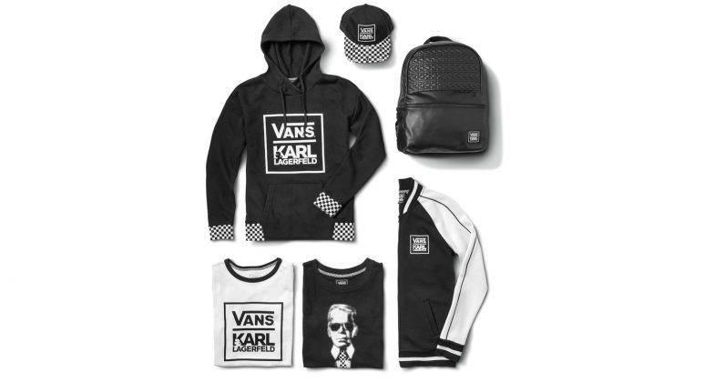 Коллаборация Vans x Karl Lagerfeld - Stone Forest