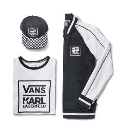 Коллаборация одежда Vans x Karl Lagerfeld - Stone Forest