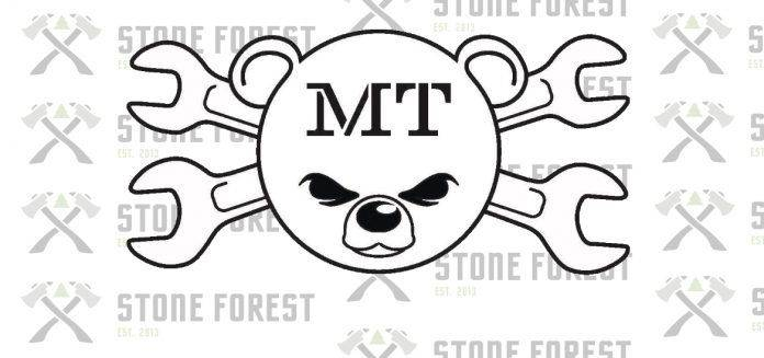Mishka Tools Logo - Stone Forest