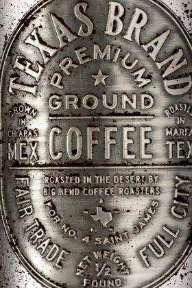 Банка кофе Texas Brand Coffee - Stone Forest