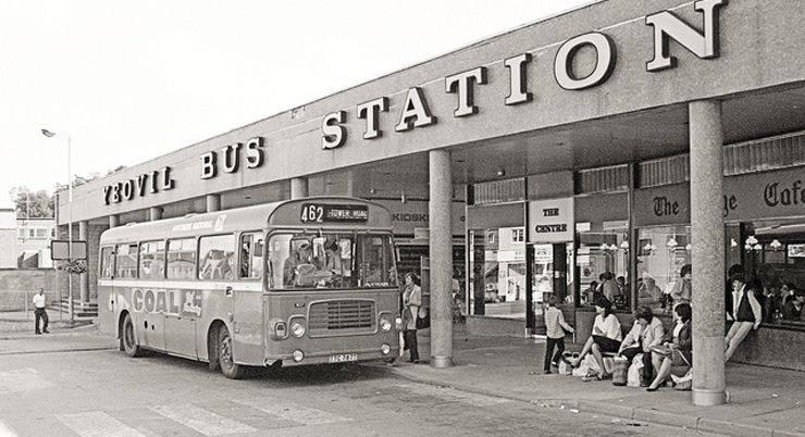 Автобусная станция города Йовил - Stone Forest