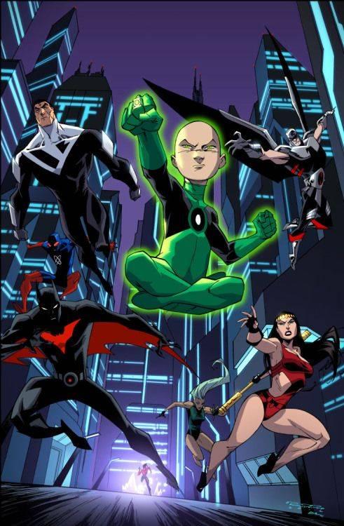 Лига справедливости Batman Beyond - Stone Forest