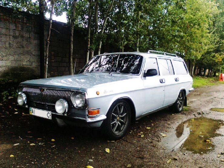 История модели Волги ГАЗ-24 - Stone Forest