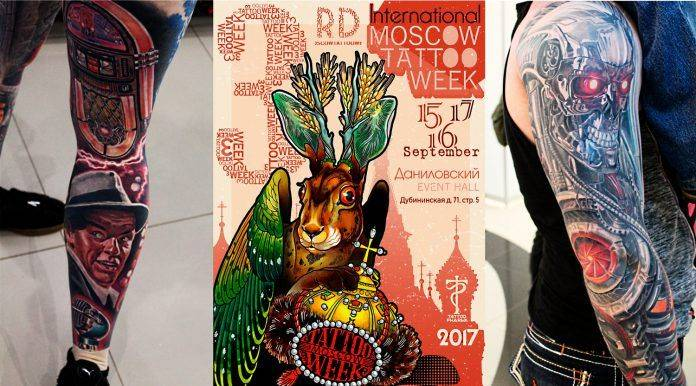 Moscow Tattoo Week 2017
