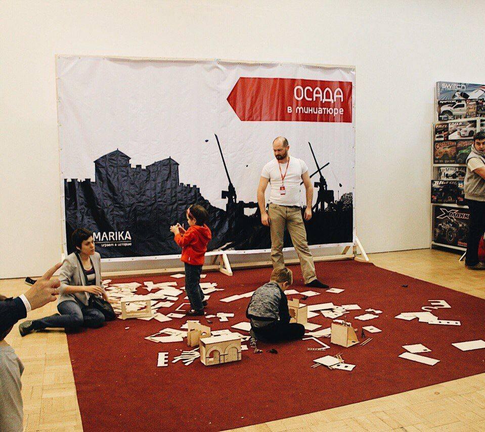 Фестиваль масштабных увлечений Штука 2017 в ЦДХ - Stone Forest