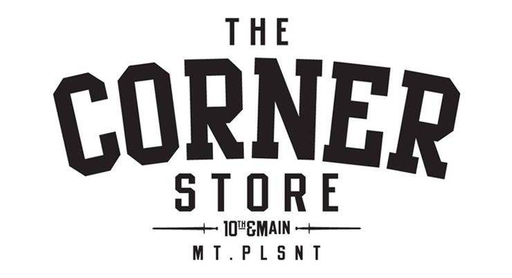 The Corner Store Vancouver Logo - Stone Forest