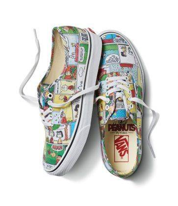Релиз Vans x Peanuts Holiday - Stone Forest