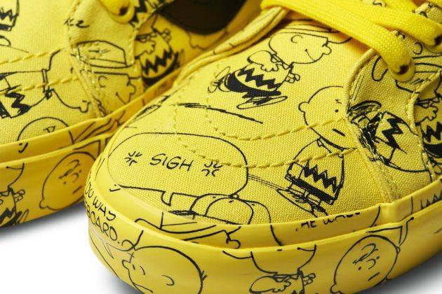 Коллаборация Vans x Peanuts Holiday - Stone Forest