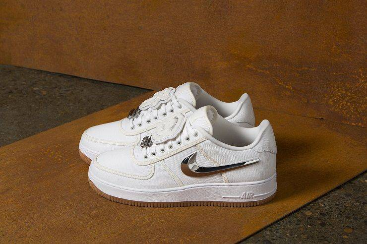 AIR FORCE 1 LOW TRAVIS SCOTT - Stone Forest