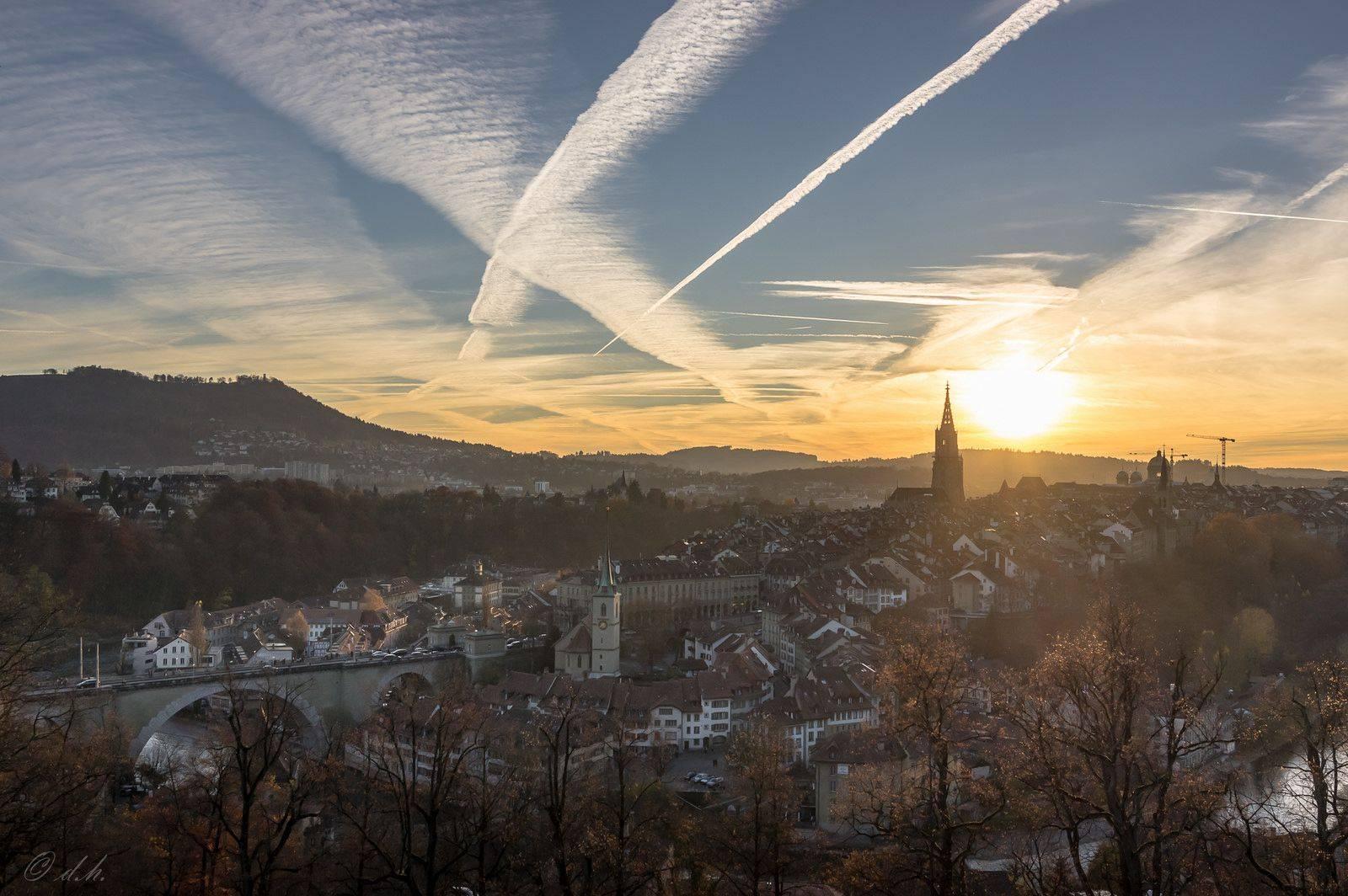 Город Берн Швейцария - Stone Forest