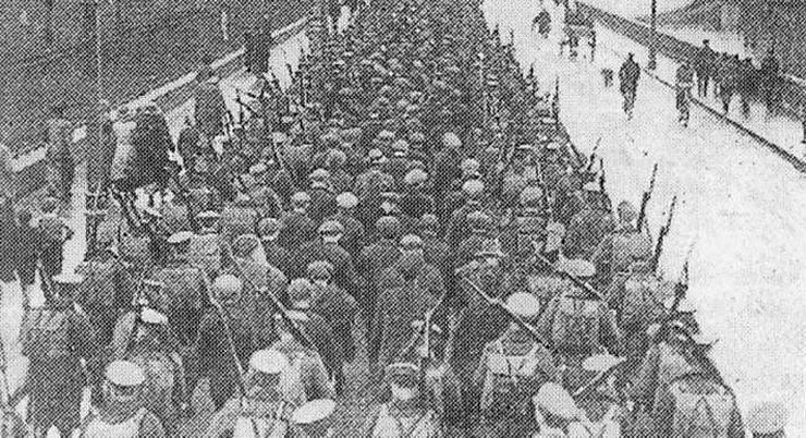Восстание в Ирландии в 1916 году - Stone Forest