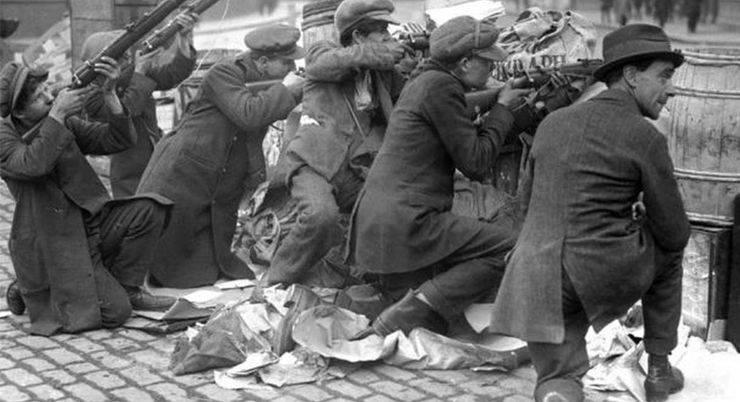 Восстание в Ирландии на Пасху в 1916 - Stone Forest