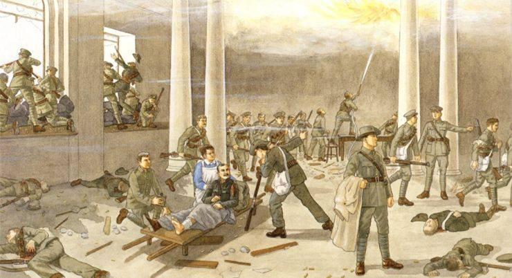 Восстание в Ирландии на Пасху 1916 - Stone Forest