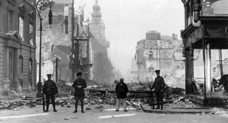 Пасхальное восстание в Ирландии в 1916 - Stone Forest