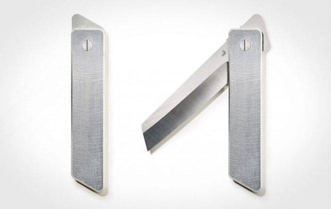 Grovemade higonokami knife - Stone Forest