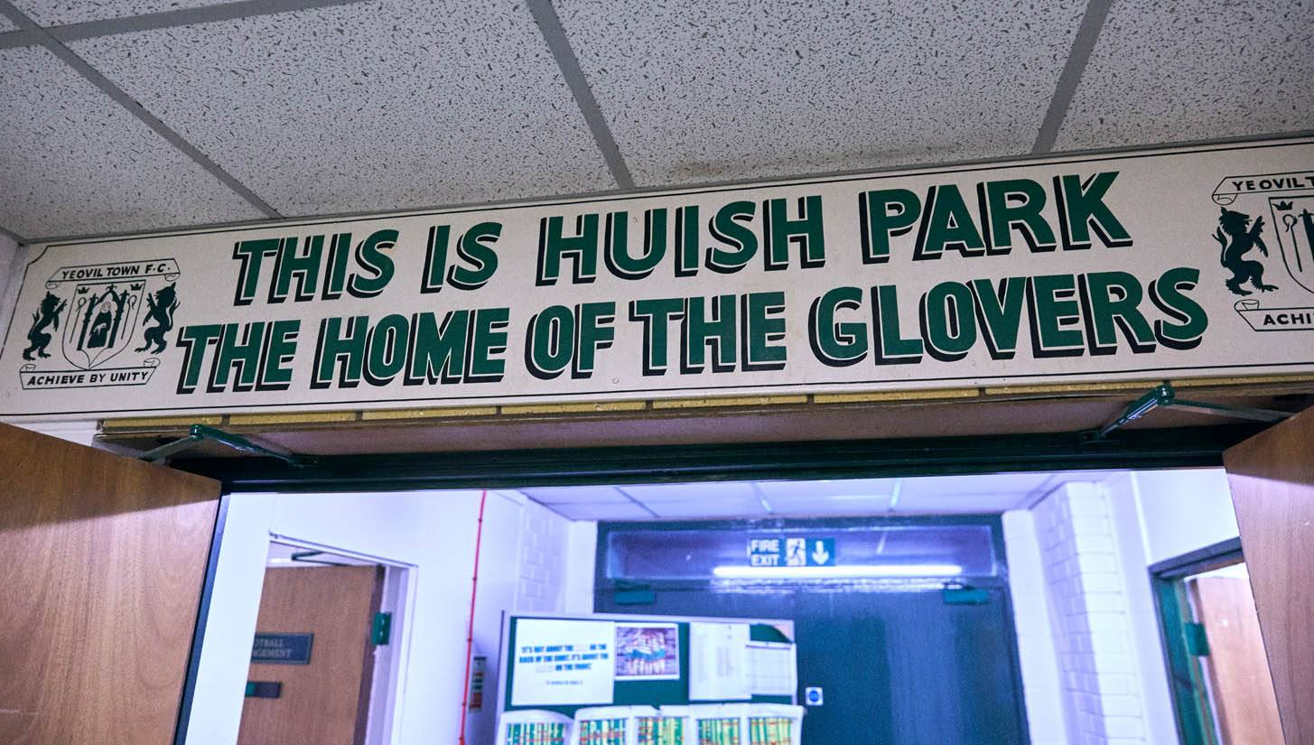 Huish Park Yeovil - Stone Forest