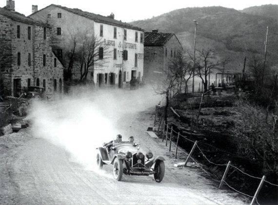 Соревнование Mille Miglia - Stone Forest